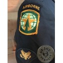 "US ARMY ""MP AIRBORNE SPECIALIST"" JACKET GREEN CLASS A UNIFORM SIZE 42R /COLLECTORS ITEM"