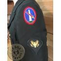 "JAQUETA UNIFORMITAT PASEIG US ARMY GREEN ""SOLDAT MILITARY POLICE AIRBORNE"" MIDA 42R NOVA /PEÇA UNICA"