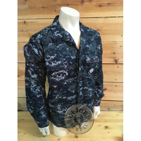 US NAVY NWU CAMO UNIFORM JACKETS USED