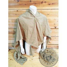 FRENCH ARMY ARGELIE WAR KHAKI PONCHO NEW