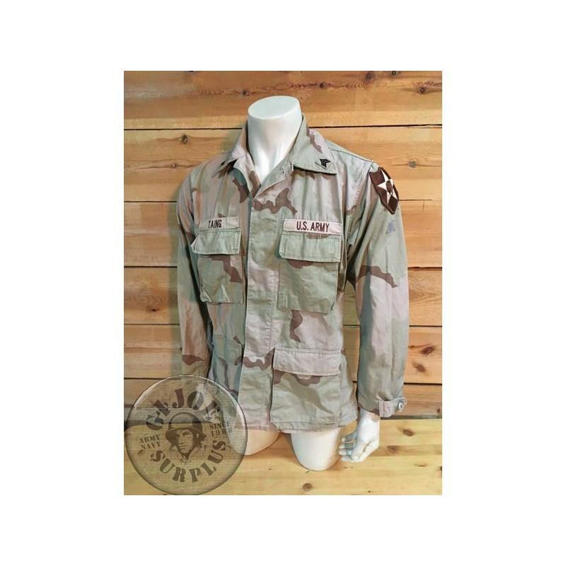 US ARMY INDIAN HEAD DIVISION DESERT 3 COLORS BDU JACKET /UNIQUE PIECE