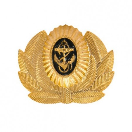 RUSSIAN NAVY OFFICERS CAP BADGE NEW