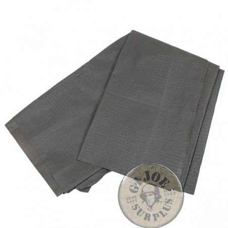 GERMAN ARMY 2.5X1M RIPSTOP PVC FABRIC USED SUPER GRADE1 CONDITION