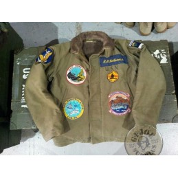 "SOLD!!!! US NAVY WWII ""N1"" JACKET SOUVENIR /COLLECTORS ITEM"