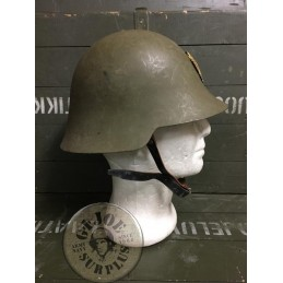 "SPANISH ARMY  ""TRUBIA M1926/38"" HELMET USED /COLLECTORS ITEM"