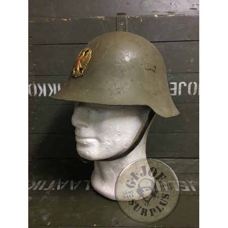 """SOLD!!! SPANISH ARMY """"TRUBIA M1926/38"""" HELMET USED /COLLECTORS ITEM"""