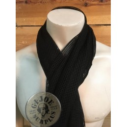 MESH SCARF 190X90 BLACK COLOUR