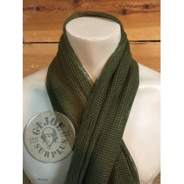 MESH SCARF 190X90 OLIVE GREEN COLOUR