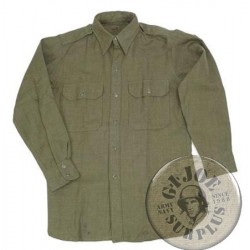 US ARMY M1950 LONG SLEEVE WOOL SHIRTS NEW /AS NEW