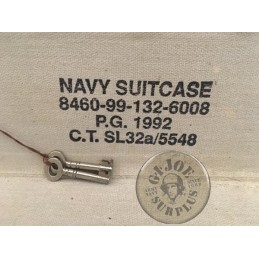 VINTAGE ROYAL NAVY SUITCASES AS NEW
