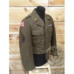 "US ARMY M1950 IKE JACKET ""KOREA 8YH ARMY SIZE 36R"" /COLLECTORS ITEM"