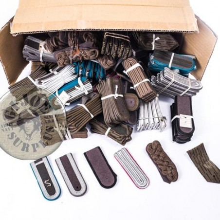 EAST GERMAN ARMY EPAULETTES START PACK 10 PIECES