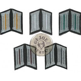 EAST GERMAN ARMY or MILITIA COLLAR  RANKS