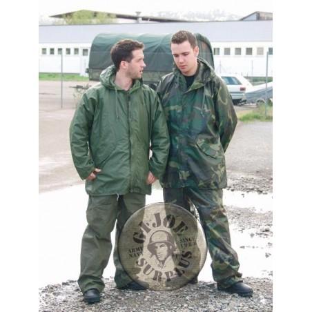 XPANTALO IMPERMEABLE PVC US ARMY CAMO WOODLAND NOU