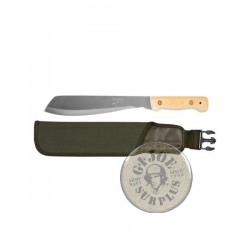 BRITISH ARMY JUNGLE MACHETE WITH OLIVE GREEN SHEATH BRAND NEW