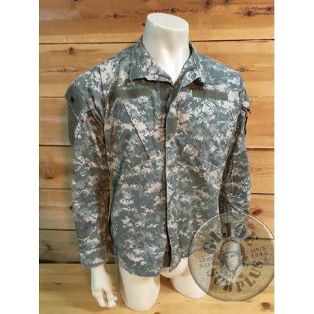 US ARMY ACU AT CAMO COMBAT JACKET USED PERFECT CONDITION