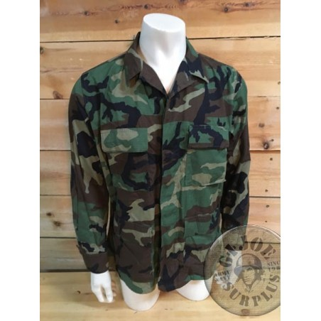 US ARMY BDU WOODLAND RIPSTOP JACKETS NEW