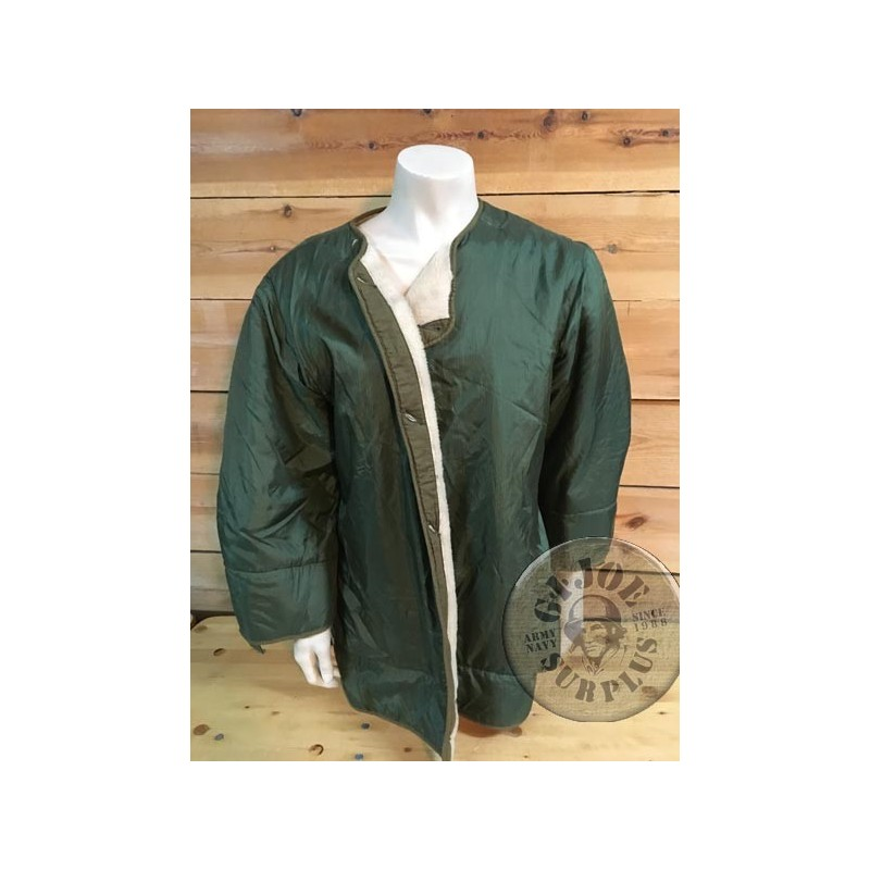 "US ARMY M1951 JACKET LINER ""1st MODEL WOOL"" NEW"