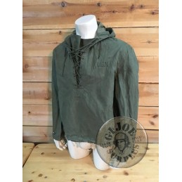 "US NAVY WWII WATERPROOF PARKA ""FOUL WEATHER"" MEDIUM SIZE NEW  /UNIQUE PIECE"