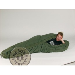 "US ARMY SLEEPING BAG ""EXTREME COLD TYPE-II"" USED"