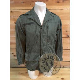 FRENCH ARMY OLIVE GREEN M64 JACKET USED