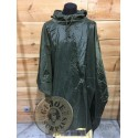 """OLIVE GREEN """"US STYLE"""" WATERPROOF PONCHO"""