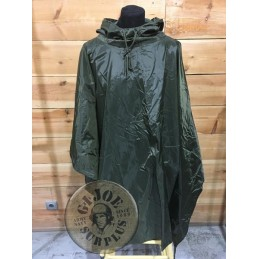 "OLIVE GREEN ""US STYLE"" WATERPROOF PONCHO"