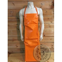 SWEADISH ARMY PROTECTION ORANGE APRON AS NEW