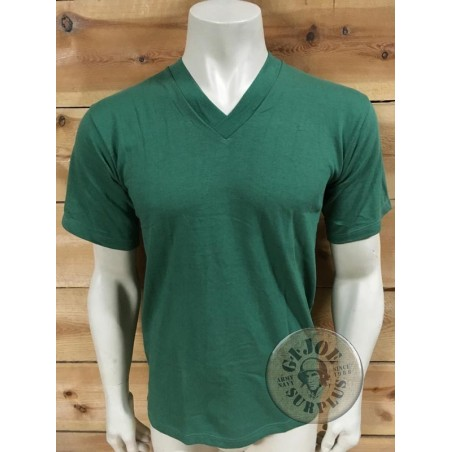 GERMAN ARMY SPORT VINTAGE T/SHIRTS GREEN COLOUR NEW