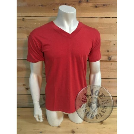 GERMAN ARMY SPORT VINTAGE T/SHIRTS RED COLOUR NEW