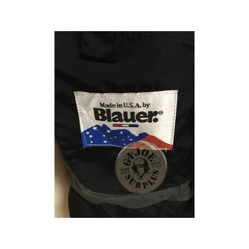 """US POLICE SHORT JACKET """"BLAUER THERMOLITTE"""" USED /COLLECTORS ITEM"""