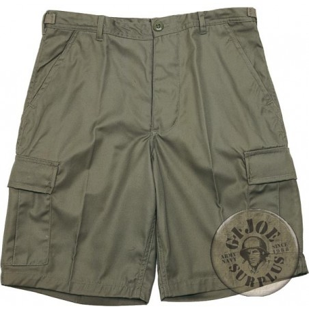 BDU CARGO SHORTS OLIVE GREEN