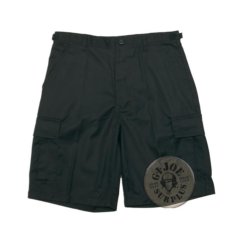 BDU CARGO SHORTS BLACK
