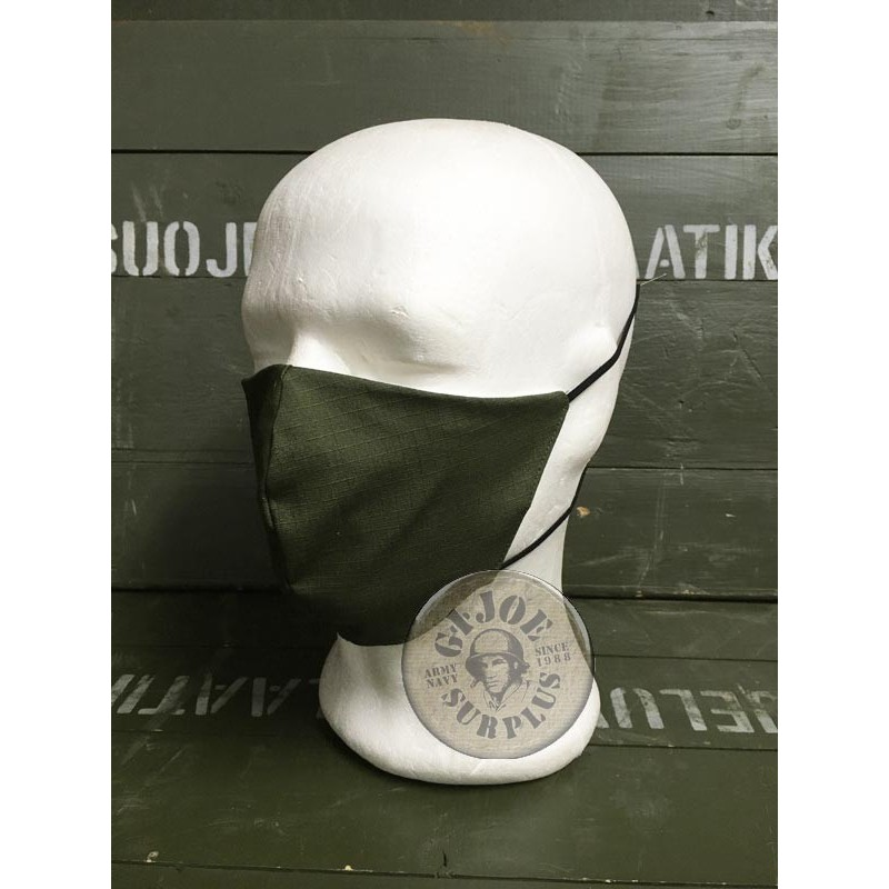 MOUTH COVER BLACK OLIVE GREEN