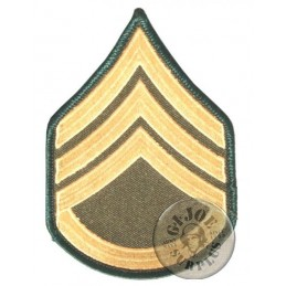 "US ARMY ""STAFF SERGENAT"" RANK PATCH MADE IN USA"