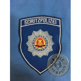 "POLIZEI PATCH EAST GERMAN ""SCHUTZPOLIZEI"" BRAND NEW"
