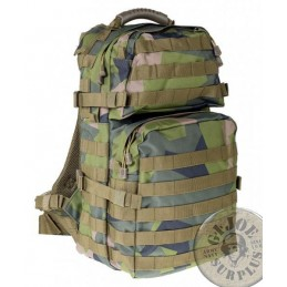 "TACTICAL MODULAR RUCKSACK ""X-LARGE 40 LITERS"" M84 SWEADISH CAMO"
