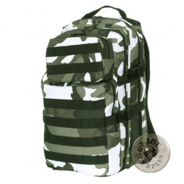 "TACTICAL MOLLE RUCKSACK ""BASIC 30 LITERS"" URBAN CAMO"
