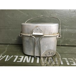 SPANISH ARMY VINTAGE 2 PIECES MESS KIT USED GRADE A