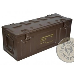 BRITISH ARMY METAL LARGE AMMO BOX USED CONDITION