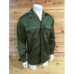 SPANISH ARMY OLIVE GREEN 1st MODEL  UNIFORM COMBAT JACKET AS NEW CONDITION