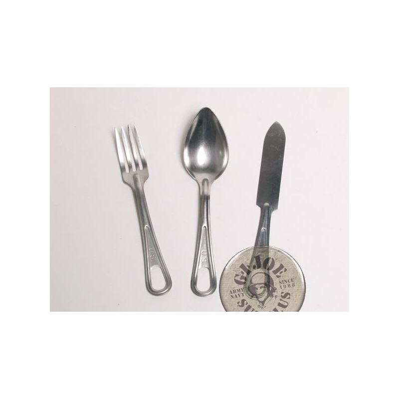 US ARMY KNIVE-FORK-SPOON SETS USED