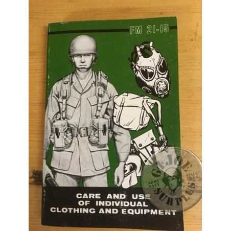 US ARMY CARE AND USE OF INDIVIDUAL CLOTHING AND EQUIPMENT 1977