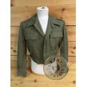 SPANISH ARMY M67 SOLDIERS SHORT BARRACKS UNIFORM JACKETS AS NEW CONDITION
