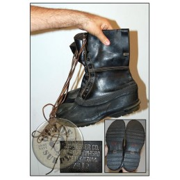 "COLD WEATHER WWII US ARMY ""M44 SHOE PACK BOOTS"" /COLLECTORS ITEM"