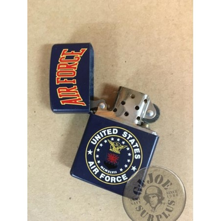 "SOLD!!! ZIPPO LIGHTER ""AIR FORCE 2000"" USED /COLLECTORS ITEM"