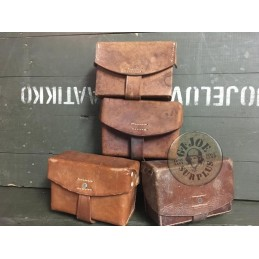 "SPANISH CIVIL WAR ""CARNIAGO"" COMBAT SYSTEM AMMO POUCH BROWN COLOUR USED"