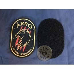 "CATALAN POLICE RIOT GROUP ""ARRO"" NEW VELCRO PATCHE"