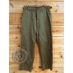 M43 FIELD COTTON TROUSERS US ARMY WWII SIZE 34R DATED 1944 NEW /COLLECTORS ITEM