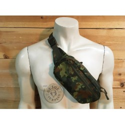 "TACTICAL KIDNEY BAG ""LIGHT"" FLECKTARN CAMO"